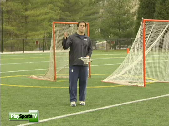 Fun Shooting Drill Shooting Tips: Lacrosse Drills: Overhand Shooting Drill